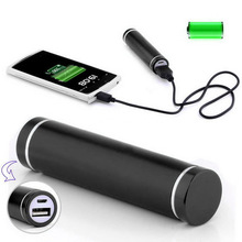 Promotional Cylindrical Power Bank 2000mAh