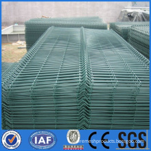 PVC coated wire mesh fence for security
