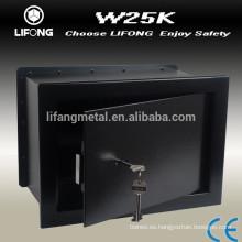 Mecánico clave de pared caja de seguridad con las claves de forma de hoja