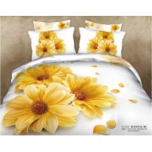 Diseño 100% algodón estampado de flores