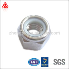 Carbon steel Nylon locking nut M12