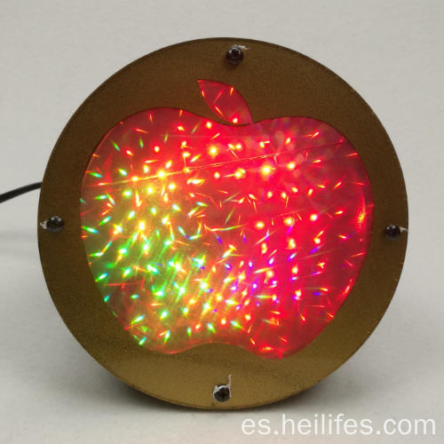 3D Apple LED Light Toy Regalos