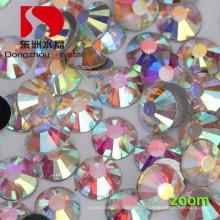 DMC cristal Ab pierre non chaude Fix pour l'accessoire de vêtement de mariage