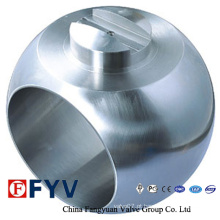 Peças de válvula de alta qualidade Bolas de válvula de aço inoxidável