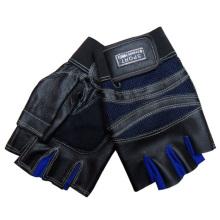 Мужская мода без пальцев из натуральной кожи спортивные перчатки (YKY5018)