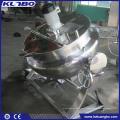 KUNBO Acier inoxydable 304 ou 316 Veste de chauffage électrique Cuisson Jacketed Kettle