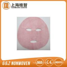 feuilles de masque facial cosmétique de vin rouge nourrissant le paquet de masque