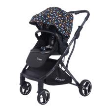 Andarilhos de bebê leves dobráveis de luxo 3 em 1 com sistema de viagem