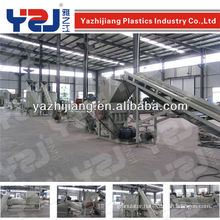 pet bottle crushing washing drying recycling line