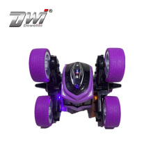 DWI  2020  New 2.4G rc remote control 360 double rolling stunt car with 6 wheels