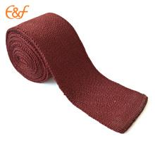 Простой, Дешевый Лучший Шелковый Красный Галстук Бренды Для Мужчин