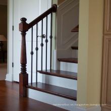 Barandillas de madera maciza de roble Barandillas y escaleras Diseño moderno residencial