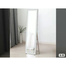 Large size 35*137cm silver aluminum mirror floor standing mirror
