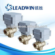 3 way electric motor operated valve