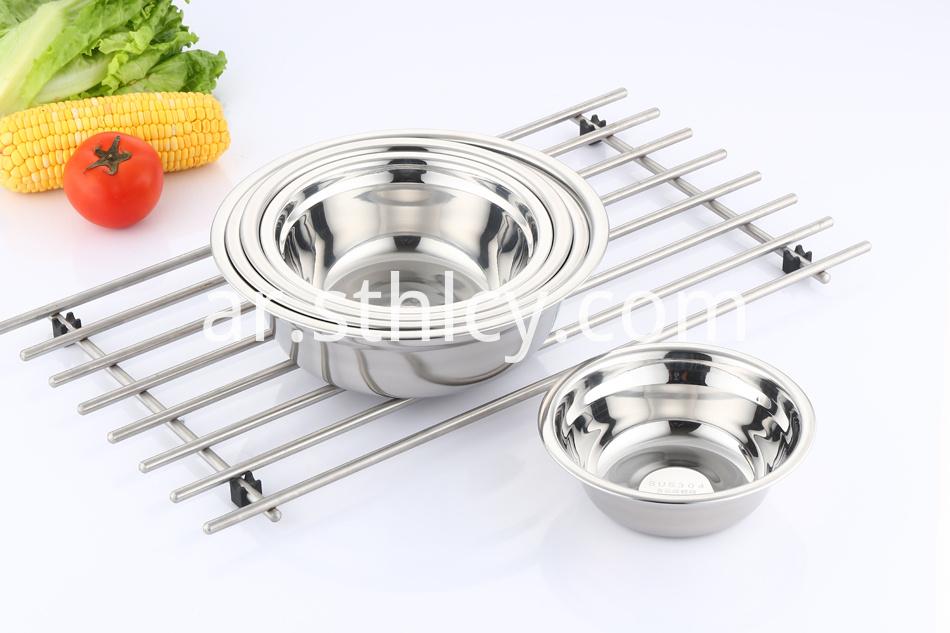 stainless steel basin bowls