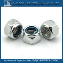 Nueces de cerradura de brida del parte movible del metal del estruendo del estruendo DIN 982 / DIN 985 M3 - M24