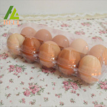 Clear Plastic PET Chicken Eggs Tray