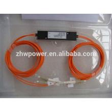 China Mini ABS de la fuente / cassette / caja del cono tipo divisor de FBT, 1 2 1x2 1 * 2 LC UPC / PC divisor / acoplador óptico del modo multi