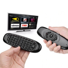 Wireless Backlit Air Remote Mouse with Mini Keyboard C120 remote control