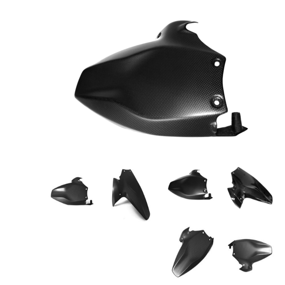 Carbon fiber Rear fender