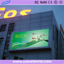 Fábrica al aire libre P8 del tablero de pantalla de la pantalla LED en el centro comercial