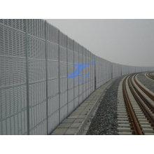 Barrera acústica para ferrocarril