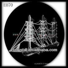 Modèle de trafic de cristal délicat E070