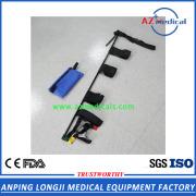 unipolar carbon fiber adjustable kendrick traction splint for broken leg