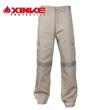 calças à prova de fogo e ácido resistente para workwers