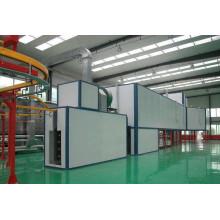 planta de recubrimiento en polvo de aluminio