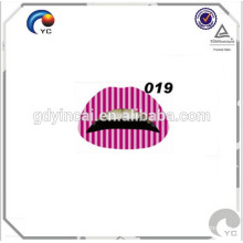 New customized lip tattoo, high quality non-toxic stickers tattoo
