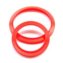 Стеклоочиститель уплотнения PU красного цвета для промышленного гидравлического