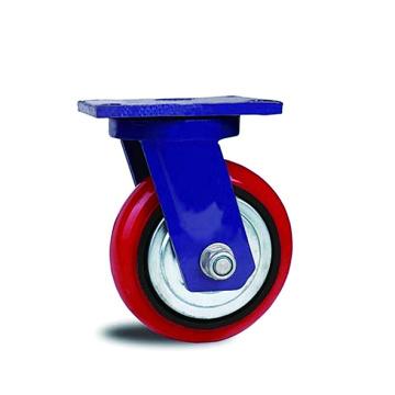 Extra-High-Capacity Swivel Casters with Polyurethane Wheels