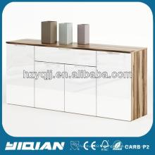 Meubles modernes Meubles Hot Wicker Cabinet Charnières à deux portes indépendantes avec Buffer Modern Storage Cabinet