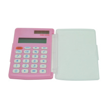 8 Digit Foldable Graphic Calculator with Transparent Cover