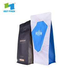 Komposterbar, biologiskt nedbrytbar Eco Coffee Bean Food Packaging Bag