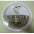 15pcs PS Disposable Plate Set