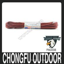 Nanjing chongfu 550 alta calidad paracord para pulsera