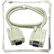 Premiun RS232 Serielles Kabel DB9pin Kabel mit Stecker zu Stecker