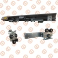 GS604 Telescopic Sliding Door Operator dengan 6063 Aluminium