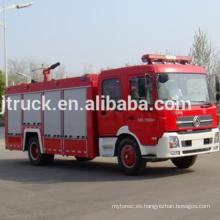4 * 2 5000L Dongfeng Water Foam Fire truck / Buscador de tanque de agua / Water fire camión de extinción de incendios / Water fire engine / water fire carro