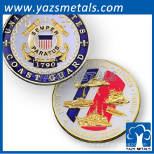 Custom Coast Guard Army Geocoin