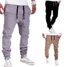 Factory OEM Men Jogger Pants Fashion Cotton Tract Pants