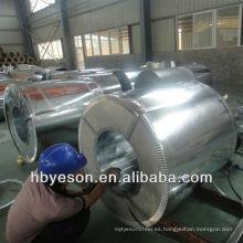 Bobina de acero galvanizado en caliente 60g