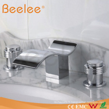 Robinets de bassin cascade salle de bain