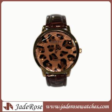 Shenzhen Factory Zinc Alloy Case Watch Leather