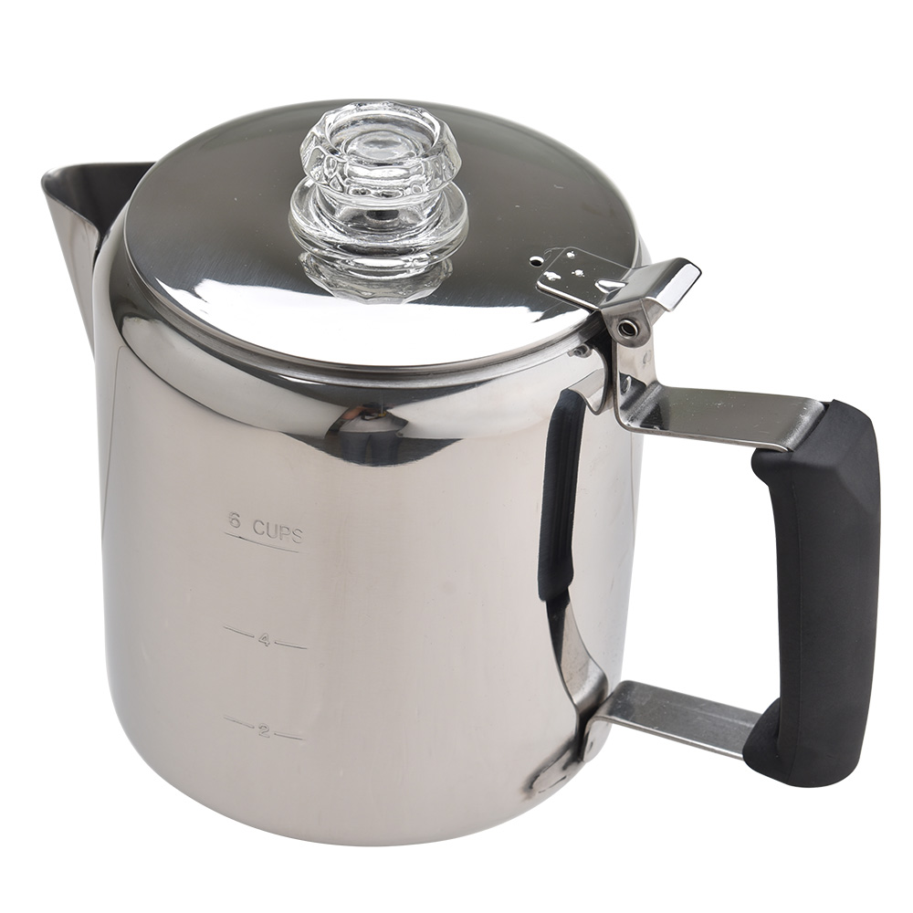 Stainless Steel Camping Coffee Pot