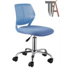 Material de color azul PP para sillas de bar