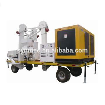 Unité de traitement de graine de grain de grain / machine de développement de graine - machine agricole