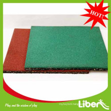2014 Liben rubber basketball flooring outdoor use